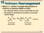 hofmann rearrangement