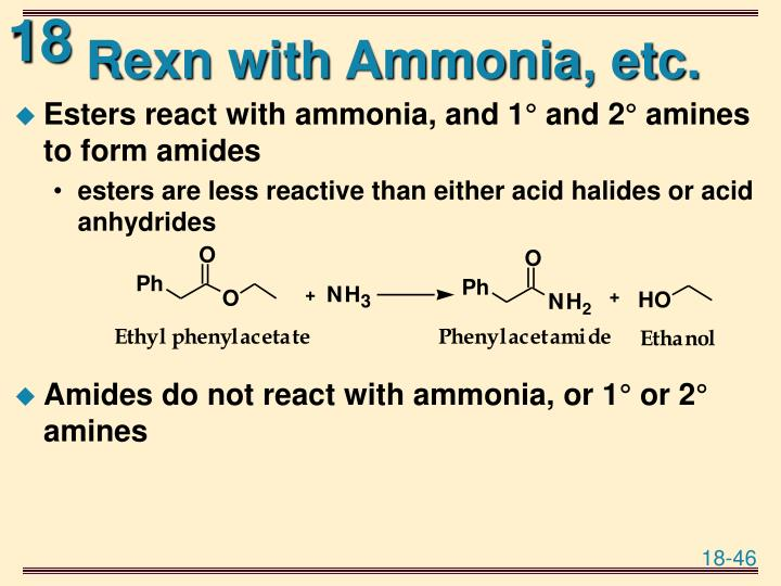 Rexn with Ammonia, etc.