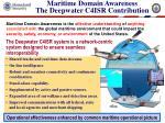 maritime domain awareness the deepwater c4isr contribution