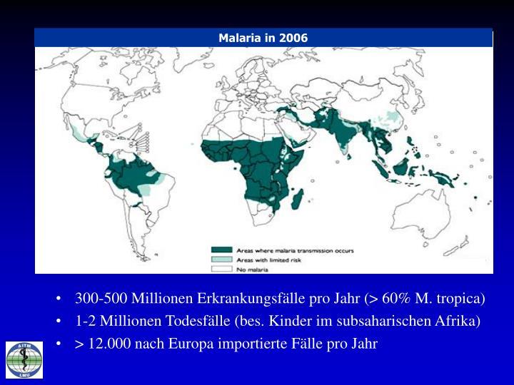 Malaria in 2006