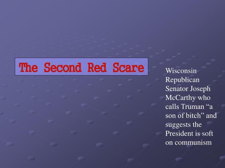 The Second Red Scare