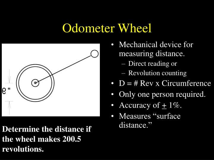Odometer Wheel