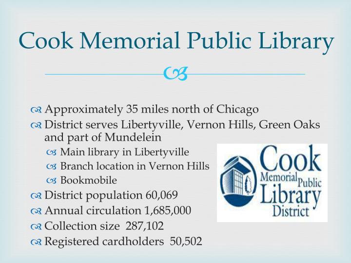 Cook Memorial Public Library