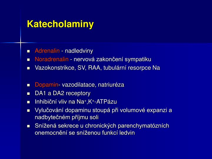 Katecholaminy