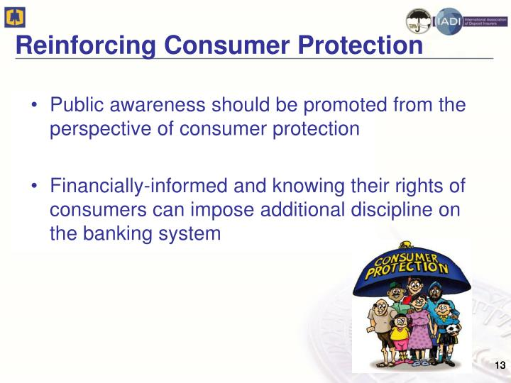 Reinforcing Consumer Protection