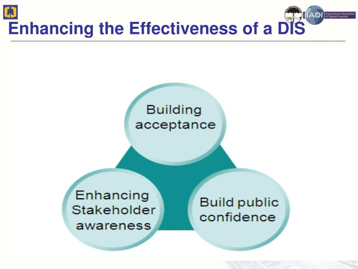 Enhancing the Effectiveness of a DIS