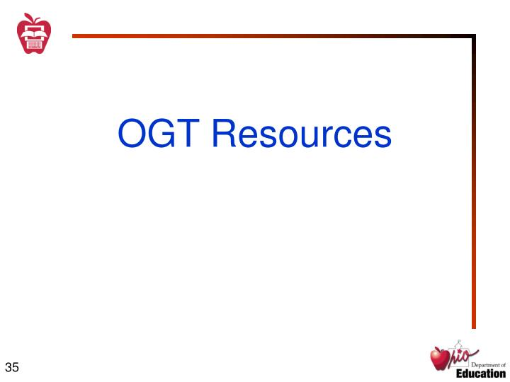 OGT Resources