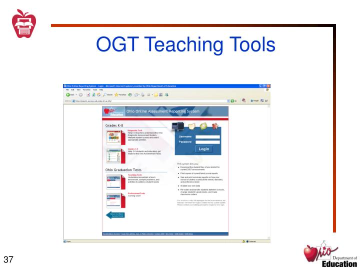 OGT Teaching Tools