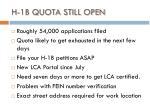 h 1b quota still open
