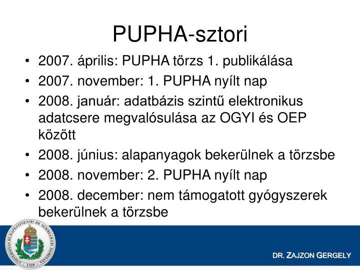 PUPHA-sztori