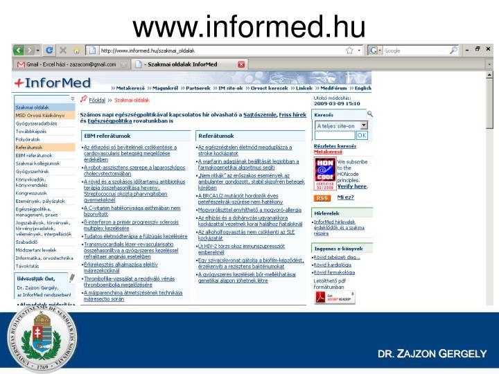 www.informed.hu