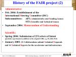 history of the fair project 2