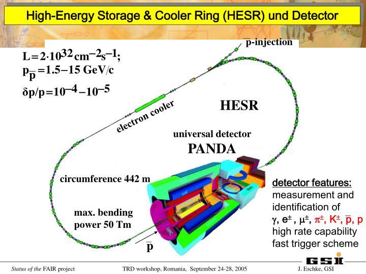 detector features: