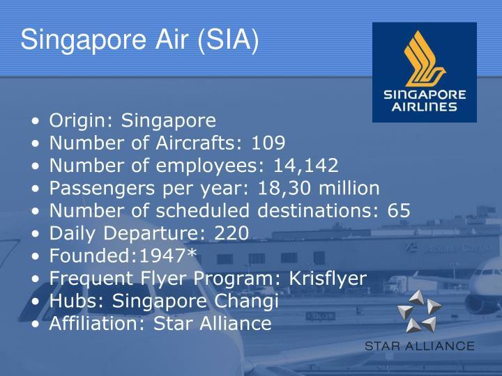 Singapore Air (SIA)