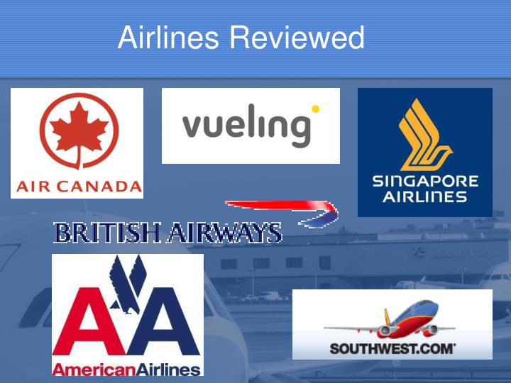 Airlines Reviewed