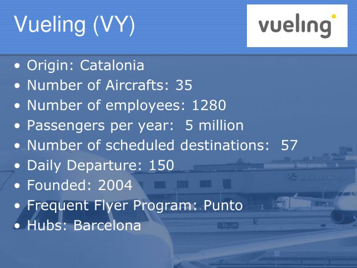 Vueling (VY)