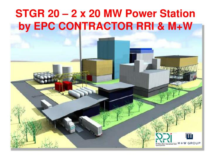 STGR 20 – 2 x 20 MW Power Station