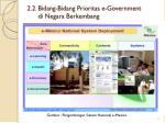 2 2 bidang bidang prioritas e government di negara berkembang