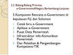 2 2 bidang bidang prioritas e governmentdinegara berkembang lanjutan2
