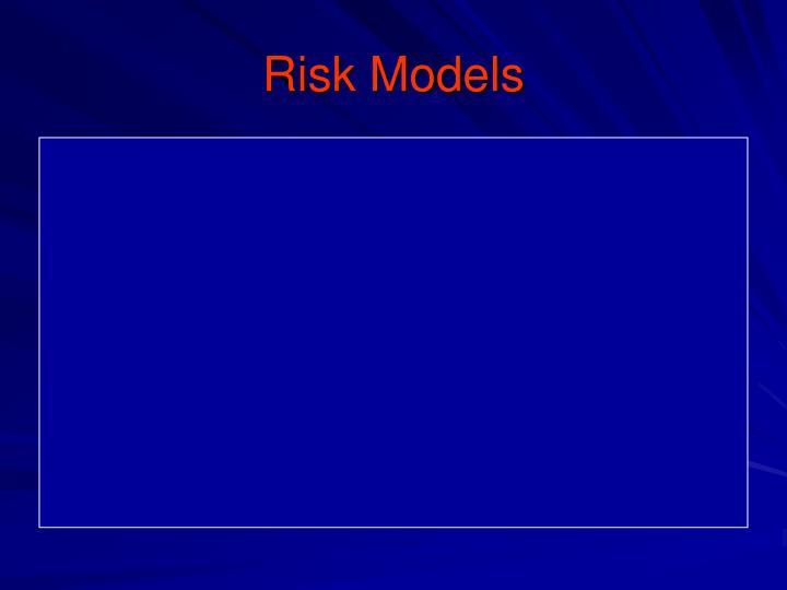 Risk Models