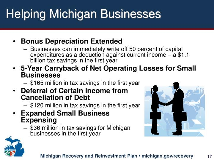 Helping Michigan Businesses
