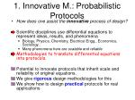 1 innovative m probabilistic protocols