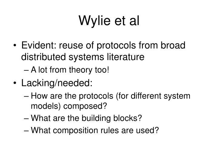 Wylie et al