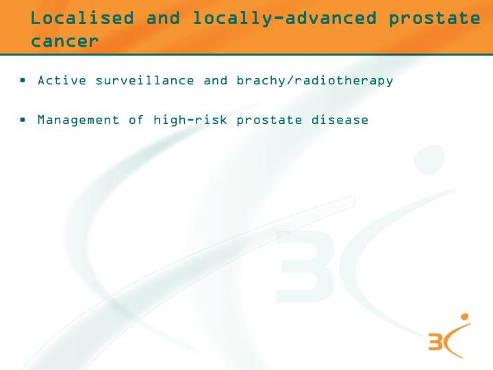Localised and locally-advanced prostate cancer