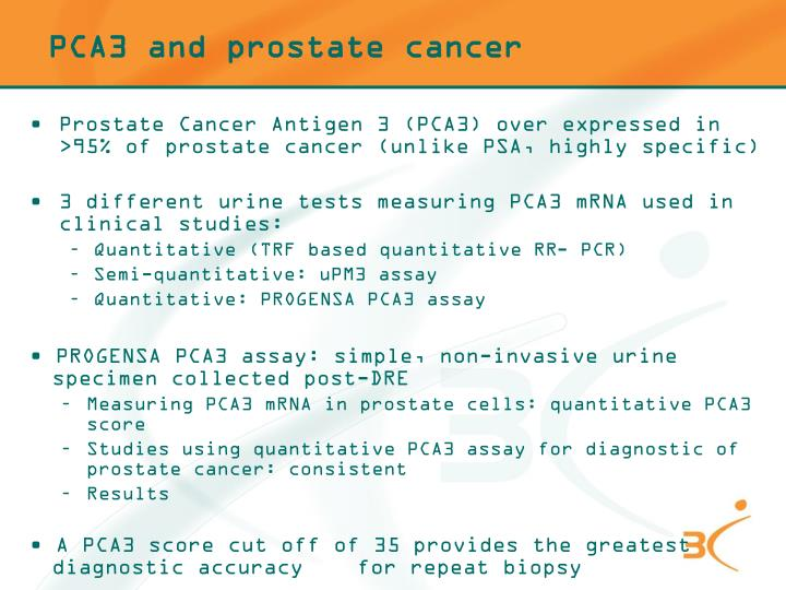 PCA3 and prostate cancer