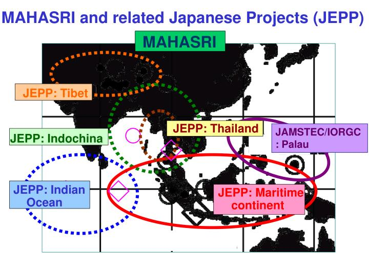 MAHASRI and related Japanese Projects (JEPP)