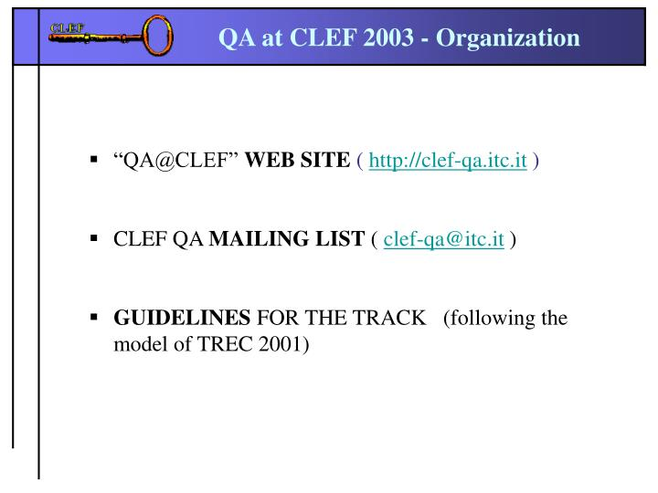 """QA@CLEF"""