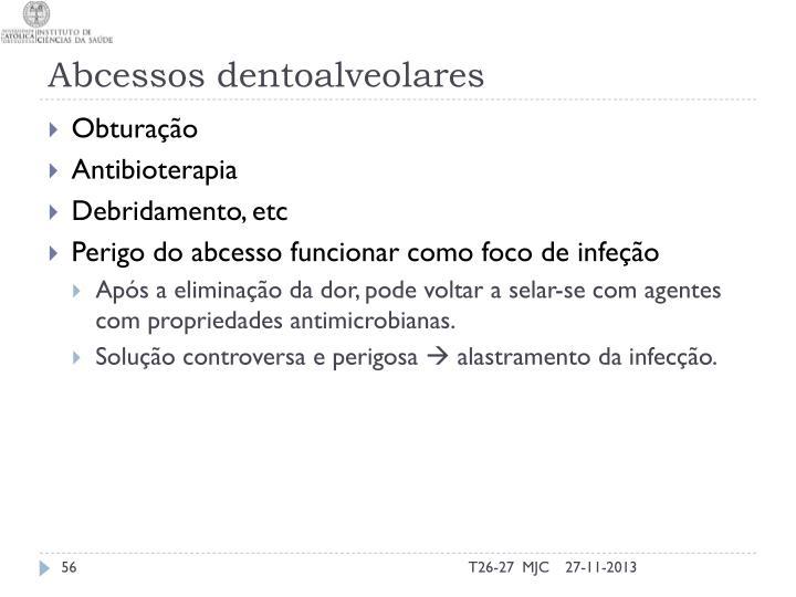 Abcessos dentoalveolares