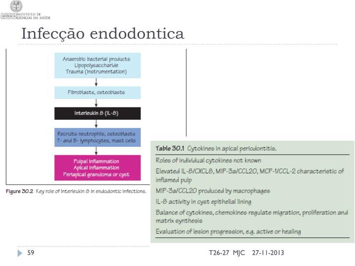 Infecção endodontica