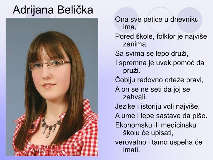 Adrijana Belička