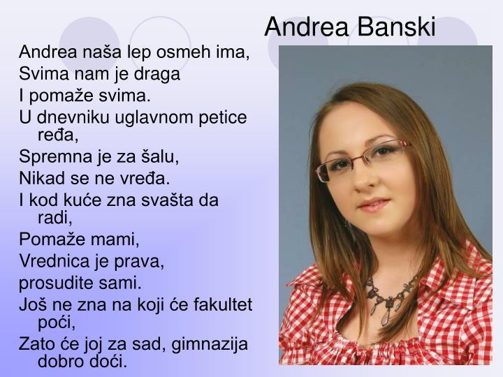 Andrea Banski