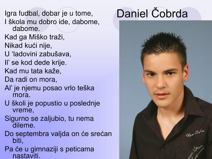Daniel Čobrda