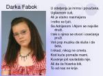 darka fabok
