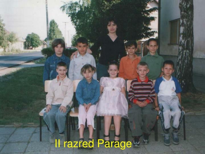 II razred Parage