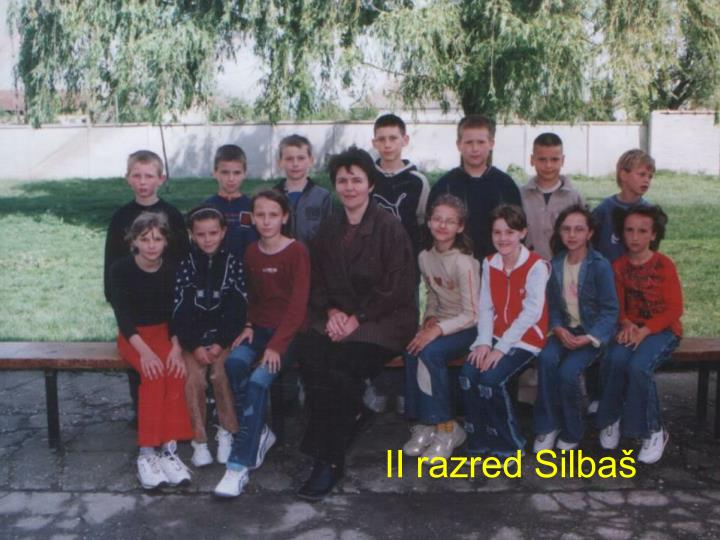 II razred Silbaš