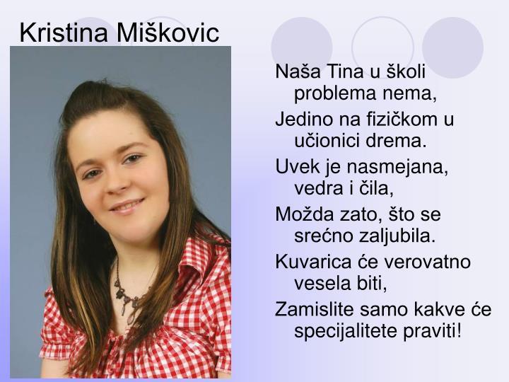 Kristina Miškovic