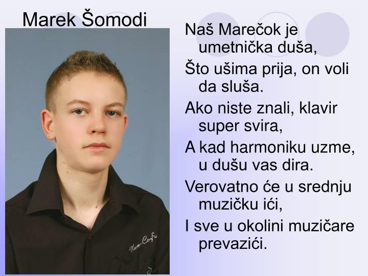 Marek Šomodi