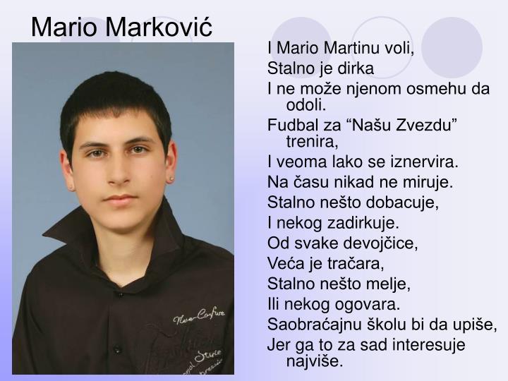 Mario Marković