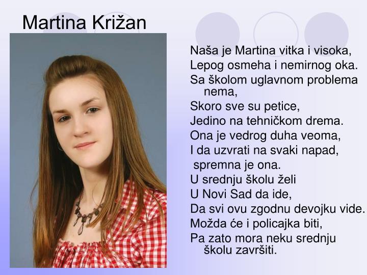 Martina Križan