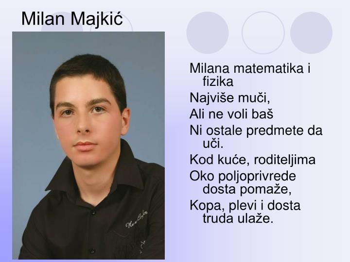 Milan Majkić