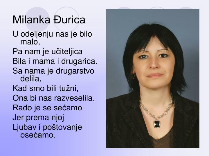 Milanka Đurica