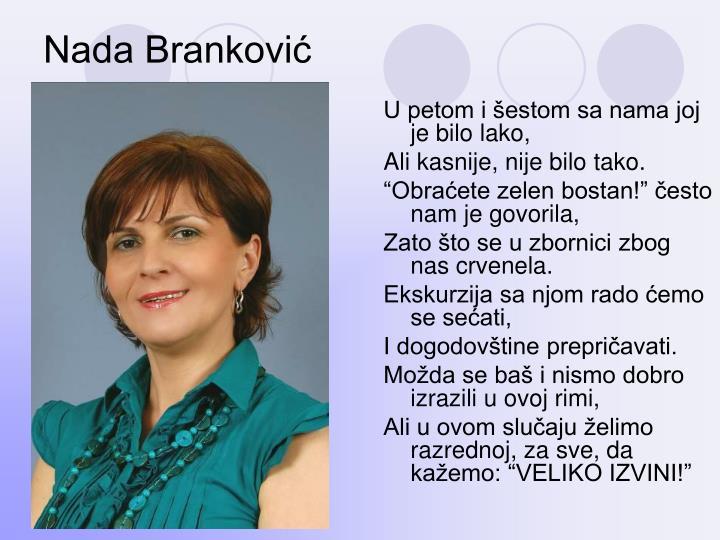 Nada Branković