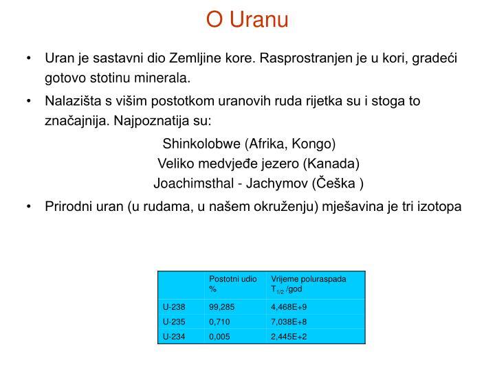 O Uranu