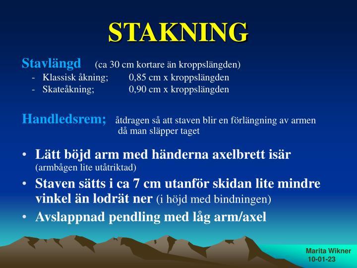 STAKNING