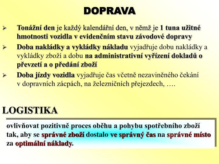DOPRAVA