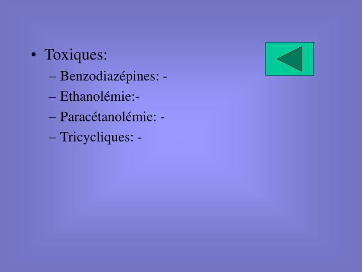 Toxiques: